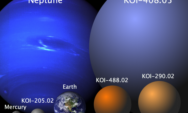 four new planets