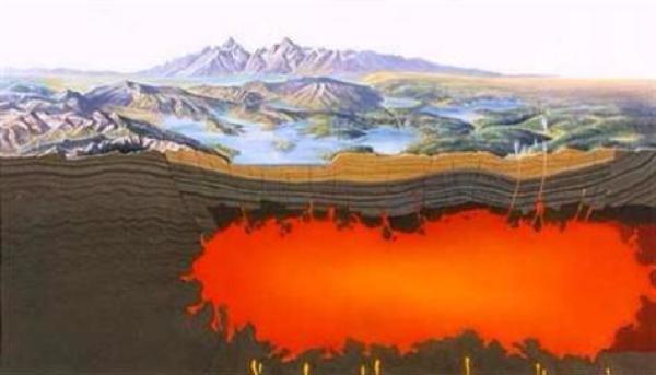 Andean supervolcanos