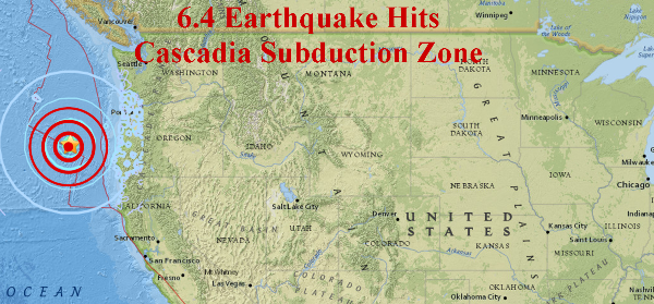 BREAKING NEWS: 6 2 Mag  Earthquake Hits Part of Cascadia Subduction