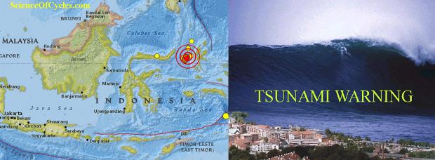 tsunami threat expires following 6 9